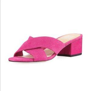 Dolce Vita cross slide block heel
